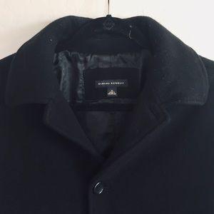 Banana Republic Cashmere Wool Blend Coat Jacket M